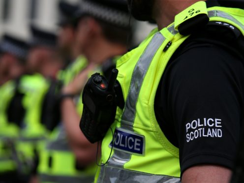Police are looking for a man in connection with the incident (Andrew Milligan/PA)