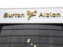 Burton have doubts over Mike Fondop-Talom (Mike Egerton/PA)
