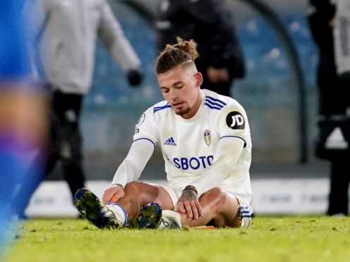 Kalvin Phillips sustained a calf injury in last month's home win against Crystal Palace (Jon Super/PA)