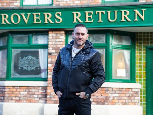Coronation Street star Will Mellor opened up on how the experience of losing his sister helped him better deal with the death of his father during lockdown (Joseph Scanlon/ITV/PA)