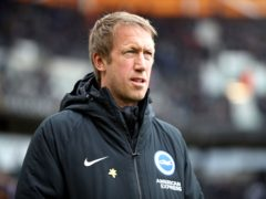Graham Potter admitted Brighton are frustrated with their results this season (Nick Potts/PA)