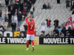 David Beckham won his 100th cap for England on March 26, 2008 (Owen Humphreys/PA)