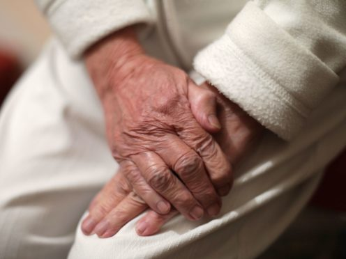 Care homes are set to allow visitors for the first time in 2021 (Yui Mok/PA)