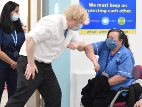 Prime Minister Boris Johnson has defended the 1% NHS pay rise recommendation (Jeremy Selwyn/Evening Standard)