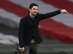 Arsenal manager Mikel Arteta has dismissed any talk of him becoming the new Barcelona boss. (John Walton/PA)