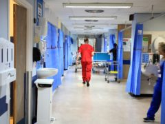 There is anger over a proposed 1% NHS pay rise (Peter Byrne/PA)