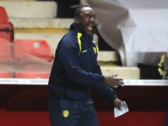 Jimmy Floyd Hasselbaink's Burton have won four of their last five matches (Adam Davy/PA)
