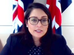 Home Secretary Priti Patel has confirmed the UK will look at sending migrants overseas to process asylum claims and that deals could be sought with foreign nations (Parliament TV/PA)
