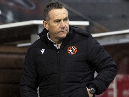 Micky Mellon measures Dundee United prgress in Aberdeen win (Alan Harvey/PA)