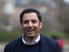 Anas Sarwar has announced his frontbench team ahead of the Holyrood elections in May (Andrew Milligan/PA)