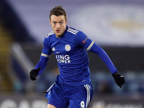 Leicester's Jamie Vardy turned 34 in January (Nick Potts/PA).