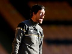 Darrell Clarke is desperate for a win at Port Vale (Bradley Collyer/PA)