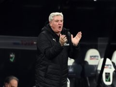 Newcastle head coach Steve Bruce is calling for a united front after a difficult week (Stu Forster/PA)