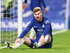 Timo Werner, pictured, has nothing to be frustrated about at Chelsea, according to Thomas Tuchel (Clive Rose/PA)