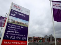 Taylor Wimpey and Countryside must end the practice of crippling ground rents on new-build homes, the CMA said (Nick Potts/PA)