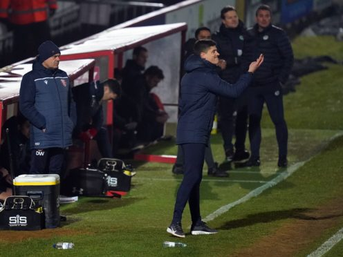 Stevenage manager Alex Revell lauded his players for their win over Forest Green (John Walton/PA)