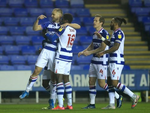George Puscas, left, got the only goal as Reading won at home to Blackburn (Adam Davy/PA)