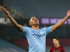 Gabriel Jesus struck twice (Carl Recine/PA)