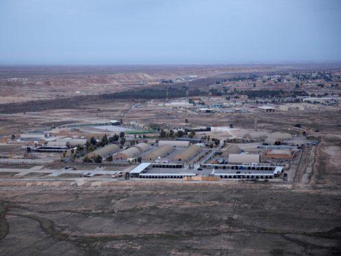 The Ain al-Asad air base in the western Anbar desert, Iraq (Nasser Nasser/AP)