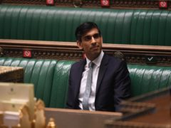 Chancellor Rishi Sunak after delivering his Budget (UK Parliament/Jessica Taylor/PA)