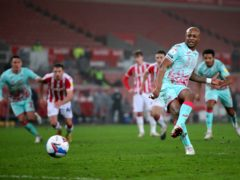 Swansea's Andre Ayew scored a late winner from the penalty spot (Nick Potts/PA)