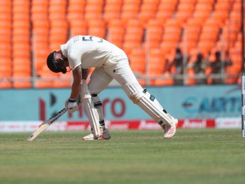 Ben Stokes offered some resistance but England endured another tough day (Aijaz Raha/AP)
