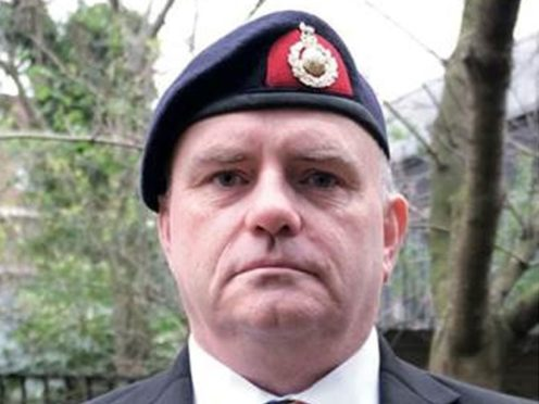 Former Royal Marine Anthony Muckell, who attempted suicide twice, has urged veterans suffering a mental health crisis to make use of a new service launched by the NHS (NHS England/PA)