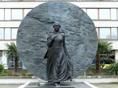The Mary Seacole Memorial Statue sits outside St Thomas' Hospital, on London's South Bank (Luciana Guerra/PA)