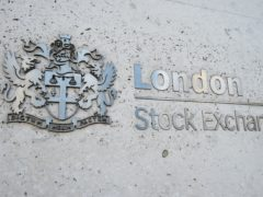 File photo dated 6/2/2018 of a view of the London Stock Exchange sign in the City of London. London stocks closed on Friday (Kirsty O'Connor/PA)