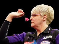 Lisa Ashton made history at the UK Open before losing in the third round (Zac Goodwin/PA)