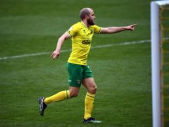 Teemu Pukki, left, scored twice as Norwich beat Luton (Joe Giddens/PA)