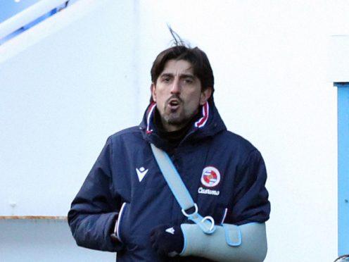 Veljko Paunovic's Reading drew at Nottingham Forest (Jonathan Brady/PA)