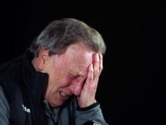 Neil Warnock did appreciate his strikers' efforts at Millwall (Nick Potts/PA)