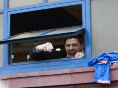 Rangers manager Steven Gerrard still has plenty to achieve this season and next (Jane Barlow/PA)
