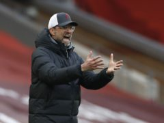 Jurgen Klopp was unable to inspire Liverpool as the Reds lost 1-0 at home to Fulham (Phil Noble/PA)