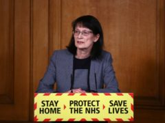 Deputy Chief Medical Officer Dr Jenny Harries (Hannah Mckay/PA)