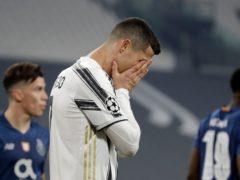 Cristiano Ronaldo suffered more Champions League misery (Luca Bruno/AP)
