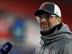 Liverpool manager Jurgen Klopp is not thinking about winning the Champions League just yet (Trenka Attila/PA)