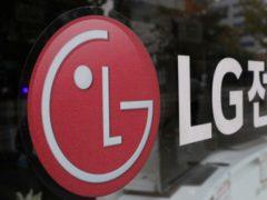 The corporate logo of LG Electronics (AP)