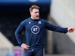 Scotland's Stuart Hogg will start at stand-off on Saturday (Jane Barlow/PA)