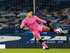 Joao Virginia will make his FA Cup debut against Manchester City as Jordan Pickford and Robin Olsen are both injured (Jon Super/PA)