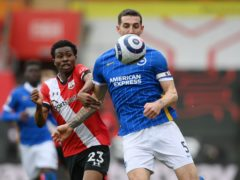 Lewis Dunk has impressed for Brighton this season (Mike Hewitt/PA)