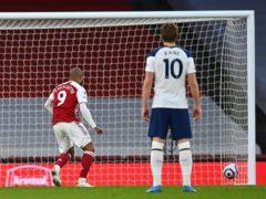 Alexandre Lacazette scored the winner from the penalty spot for Arsenal (Dan Mullan/PA)