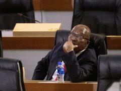 Former South African president Jacob Zuma (Themba Hadebe/AP)