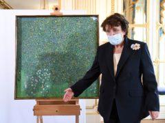 French Culture Roselyne Bachelot (Alain Jocard/Pool Photo via AP)