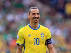 Zlatan Ibrahimovic provided a match-winning assist on his return to international football (Mike Egerton/PA)
