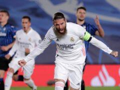 Sergio Ramos scored from the spot (AP Photo/Bernat Armangue)