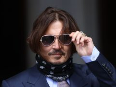 Johnny Depp is trying to overturn a damning ruling that he assaulted his ex-wife Amber Heard (Yui Mok/PA Wire)