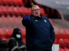 Steve Evans was left disappointed (Steven Paston/PA)