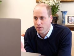 The Duke of Cambridge speaks with Syrian aid workers (Kensington Palace)